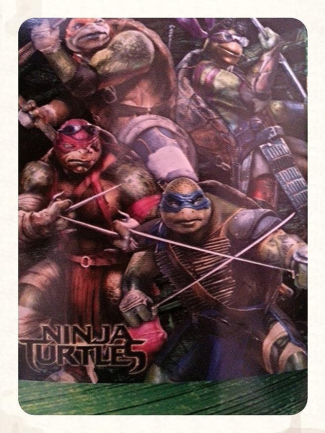 Las Tortugas Ninja multielementos Peluche Manta: Amazon.es ...