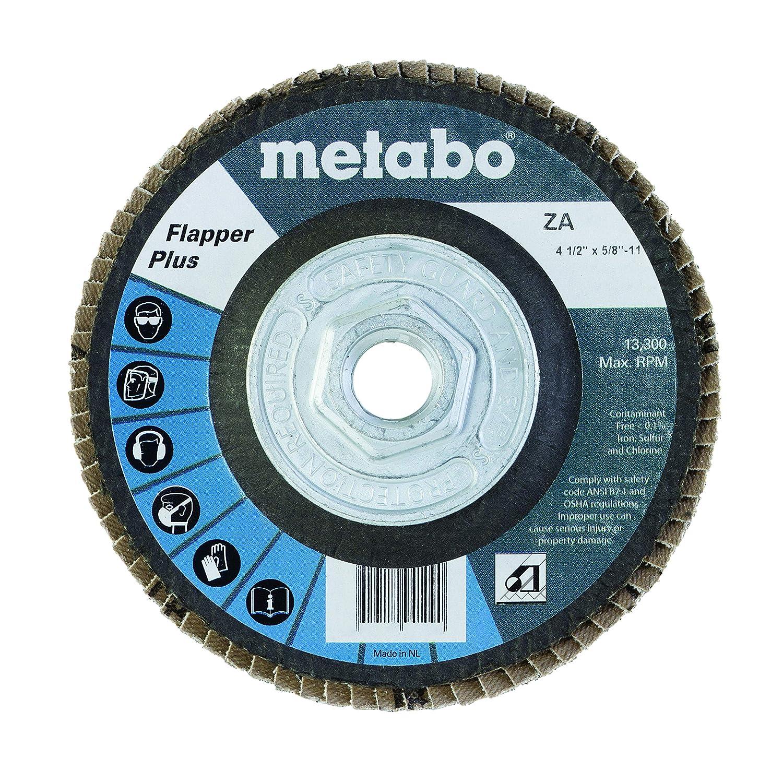 Metabo 629410000 4 1//2 Flapper Plus 60 5//8-11 T29 Fg