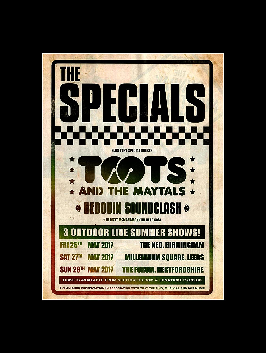 Stick It On Your Wall The Specials Toots & The MAYTALS Beduinen ...