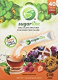 Sugarlike Zero Calorie Sweetener with Monk Fruit- Single-Serve Sticks, 40 Count
