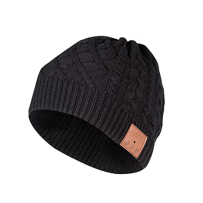 c066391ad64 Image Unavailable. Image not available for. Color  Bluetooth Beanie Hat  Headphone blueear Wireless Winter Knit ...