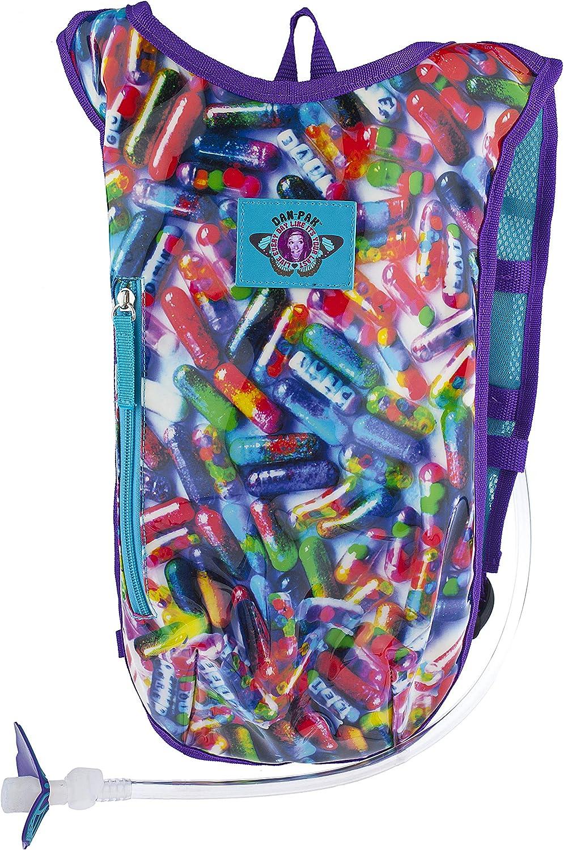 Dan-Pak Rave Hydration Pack 2l - Glitter Pills