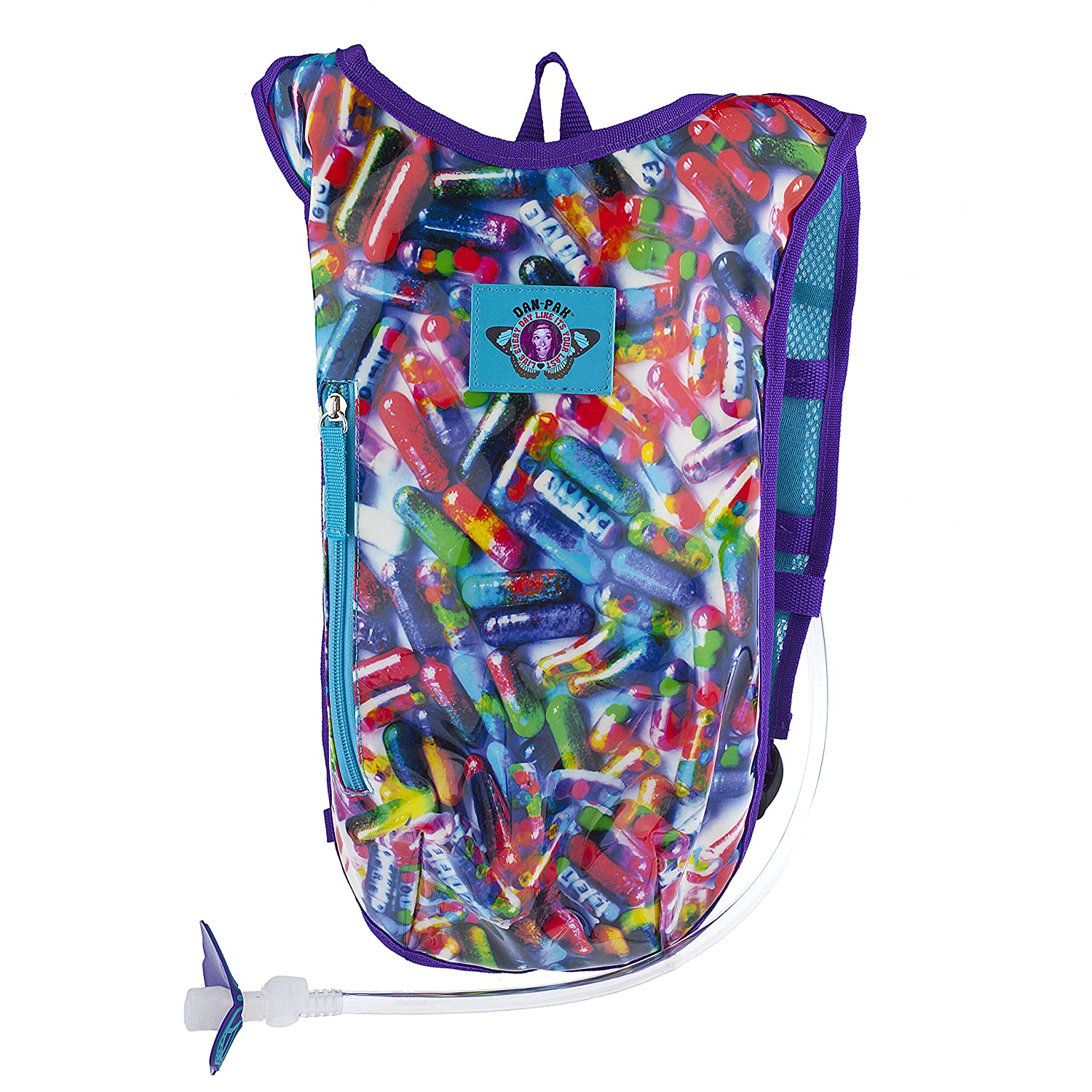 Dan-Pak Rave Hydration Pack 2l Glitter Pills Carnival Inc.