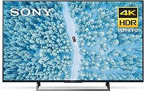 Sony XBR43X800E 43-Inch 4K Ultra HD Smart LED TV (2017 Model)