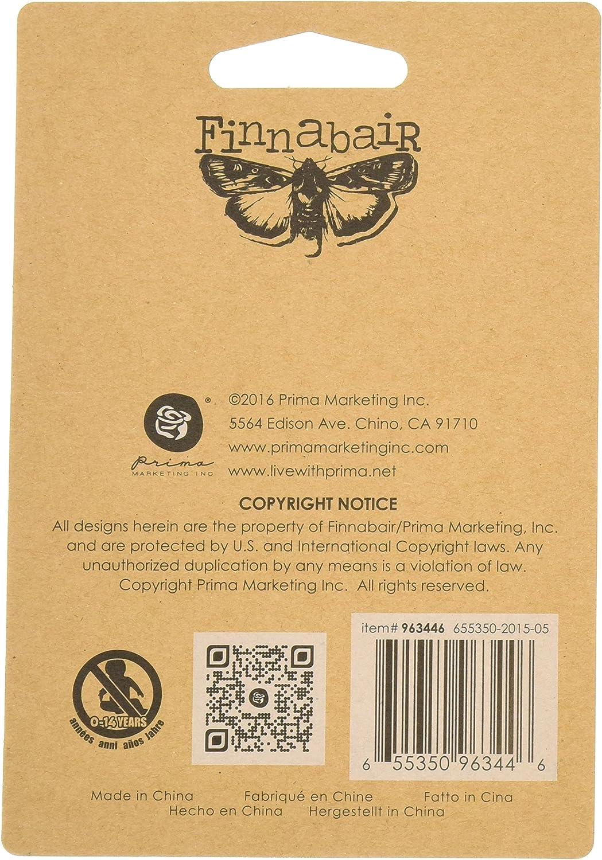 Prima Marketing 205296 Finnabair Mechanicals Metal Embellishments Steampunk Blades 8// Package