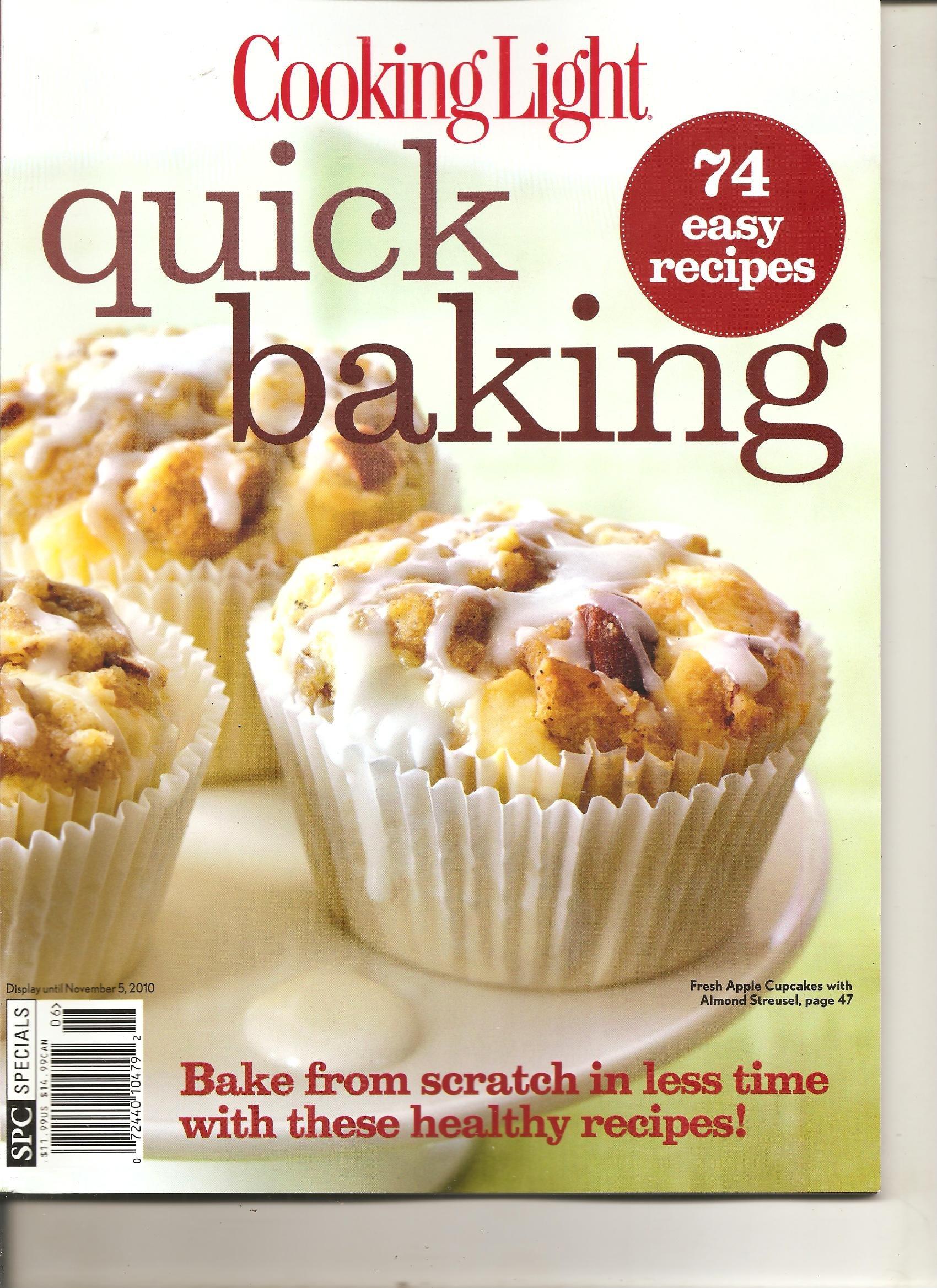 Read Online Cooking Light Magazine (Quick baking, November 2010) pdf