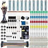Smraza Basic Starter Kit with Breadboard,Power Supply,Jumper Wires,Resistors,LED for Arduino UNO R3,Mega2560,Nano,Raspberry Pi