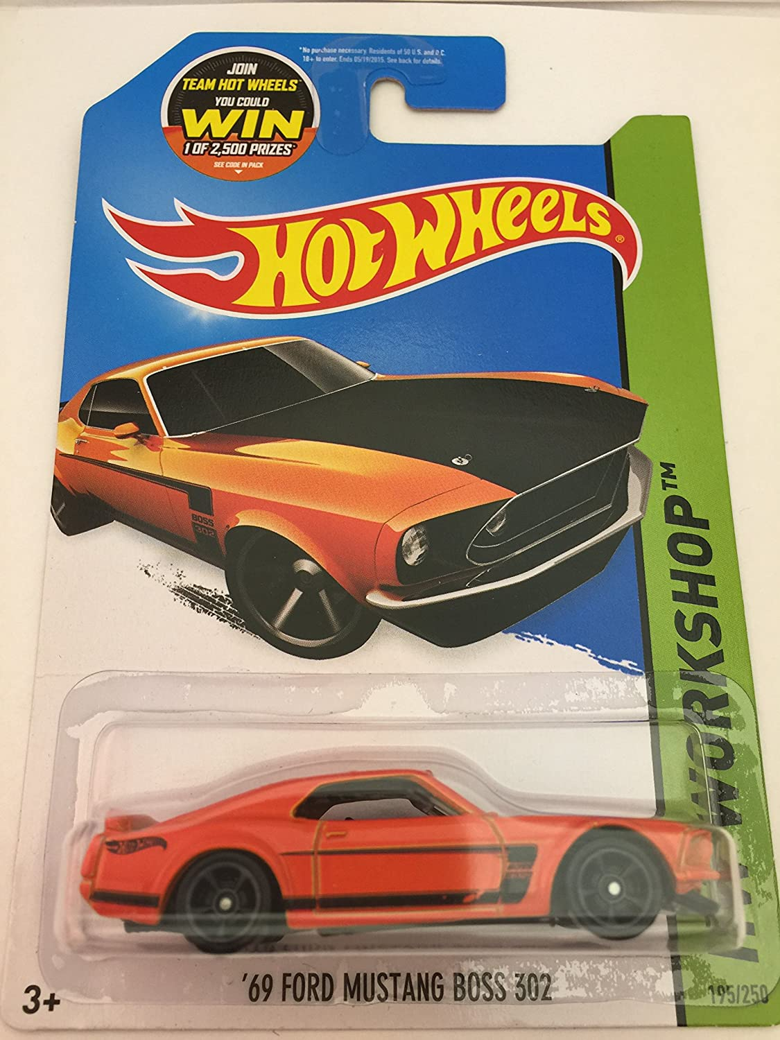 Amazon com hot wheels 1969 ford mustang boss 302 toys games