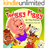 "FARM ANIMAL:""TWIGGY PIGGY"":Beginner readers, early learning readers, Children's picture book 4-8, Bedtime Story(Animal Story book)book for kids, Fantasy, ... Manners, friendship (BIG LITTLE FARM 3)"