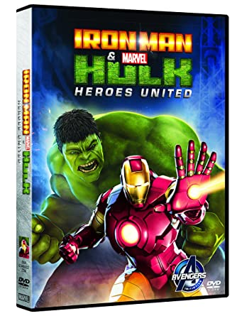 Iron man hulk heroes united amazon cartoni animati film e tv
