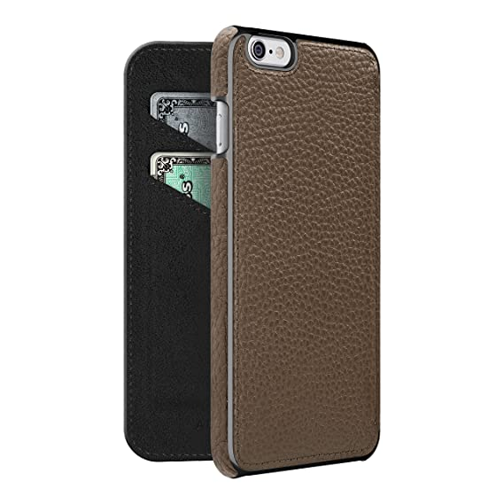 super popular 8eed7 45f2a ADOPTED Leather Folio Case for Apple iPhone 6 Plus/6sPlus - Sumatra/Gunmetal