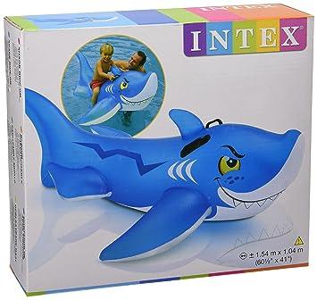 INTEX Colchoneta Inflable de tiburón