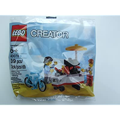 LEGO Exclusive Creator 40078 Hot Dog Stand: Toys & Games