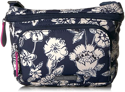 44b574d99 Amazon.com: Vera Bradley Midtown Belt Bag, midnight floral: Clothing