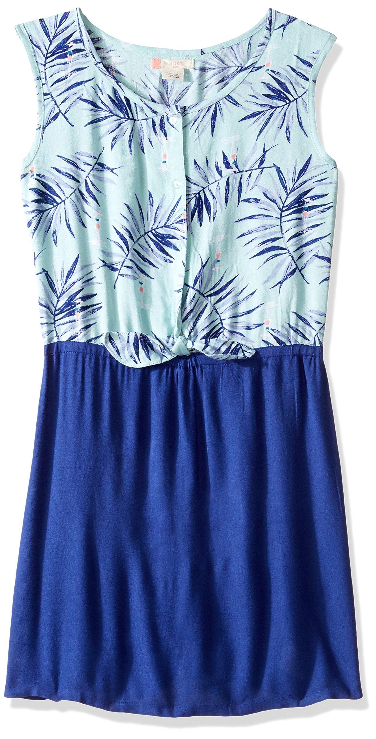 Roxy Big Girls' Maroccan Palace Dress, Beach Glass La Croisette, 8
