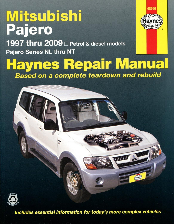 Mitsubishi Shogun / Pajero 1997 - 2009 Manual: Amazon.co.uk: Car & Motorbike