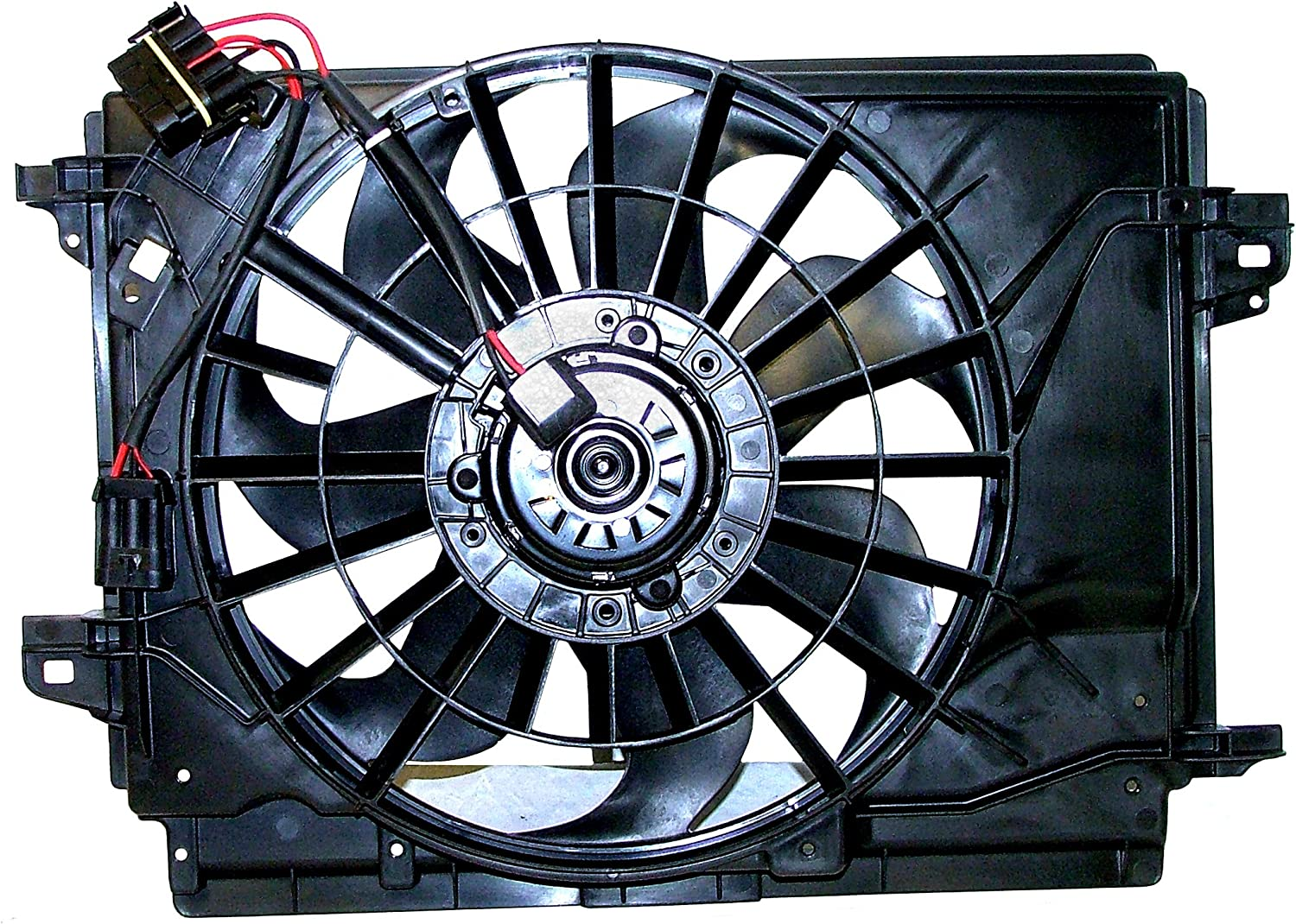 ACDelco 15-80657 GM Original Equipment Engine Cooling Fan Assembly with Shroud