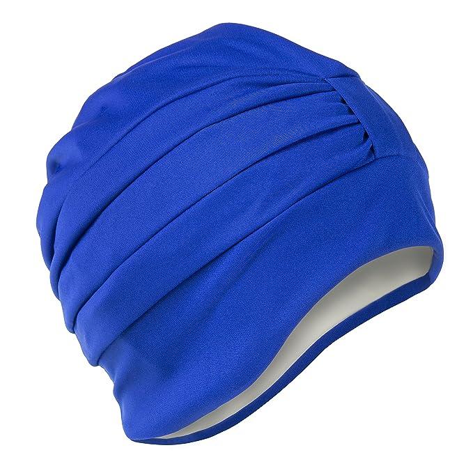 1 opinioni per Fashy Cuffia da nuoto tipo turbante, da donna, con chiusura regolabile, colore