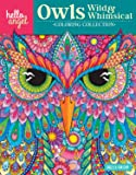 Hello Angel Owls Wild & Whimsical Coloring Collection (Hello Angel Coloring Collection)