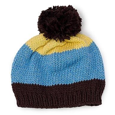 62ca8e52c08 Amazon.com  Beanie Designs Organic Cotton Baby Infant Handmade Pompom  Earflap Hat Toddler Boys Girls Kid  Clothing