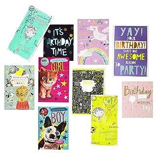 Hallmark Birthday Bundle misti–Confezione da 10carte, 10design 10design 25517596