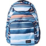 Roxy Junior's Shadow Swell Backpack, air blue spray Stripe, One Size