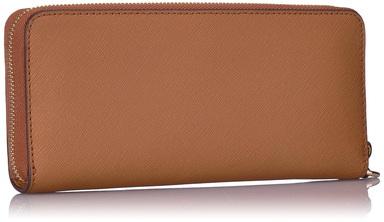 137214d6c58c4 Michael Kors Women s Jet Set Travel Leather Continental Wallet Wristlet -  Acorn  Amazon.in  Shoes   Handbags