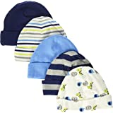 Gerber Baby Boys' 5 Pack Caps