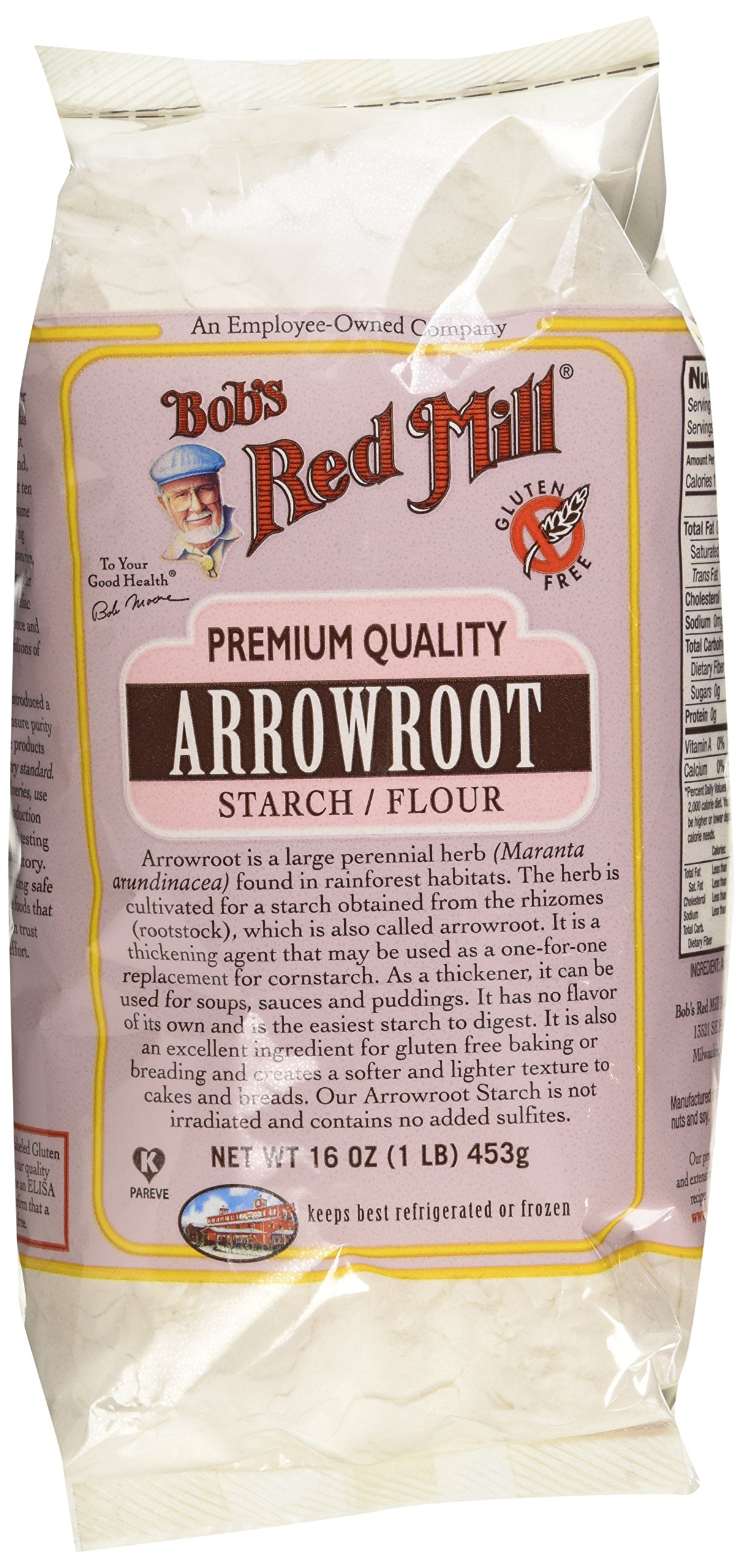 Bob's Red Mill Arrowroot Starch / Flour, 16 Ounces (Packaging May Vary) by Bob's Red Mill (Image #2)