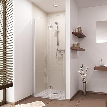 Faltbare Duschabtrennung Duschtür Dusche Falttür Duschkabine nach ... | {Duschabtrennung faltbar 81}