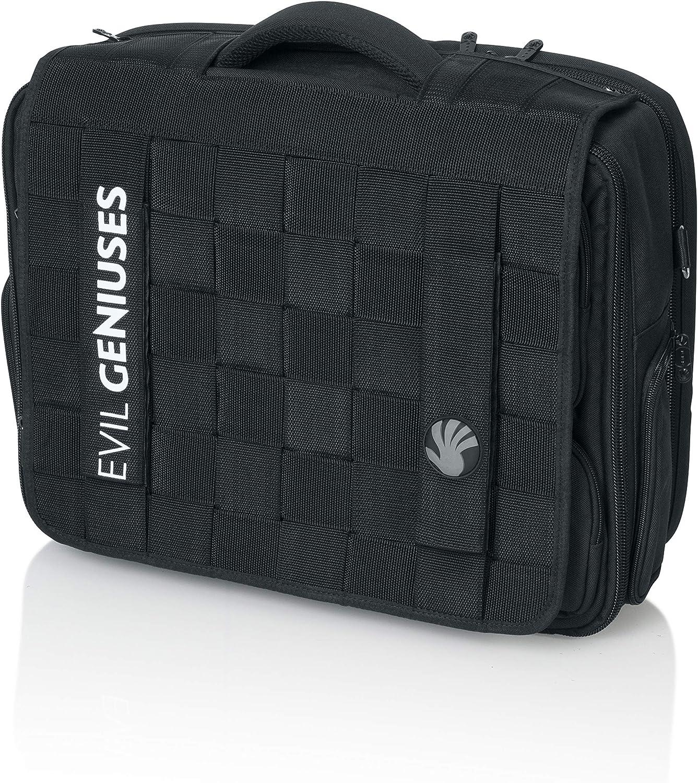 Slappa Accessories Kiken Checkpoint Friendly 18 inch Gaming and Travel Laptop Bag; MLG eSports Edition: Evil Geniuses (SL-BP-FLAP03-EG)