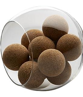 Juego de 20 pelotas de futbolin de corcho para adultos o niños, 35mm de futbolín, compatible con juegos de futbolín, mesa multijuegos, mini pelota de fútbol, kicker, mini futbolín profesional plegable: Amazon.es: