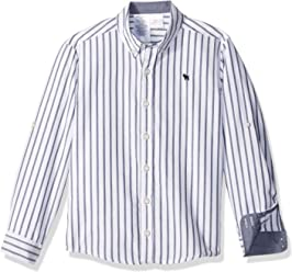 OFFCORSS Long Sleeve Button Down Shirts for Kids | Camisa De Vestir para Niños