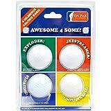 On Par Awesome 4 Some Four Joke Balls - Exploder, Jetstreamer, Floater & Unputtaball