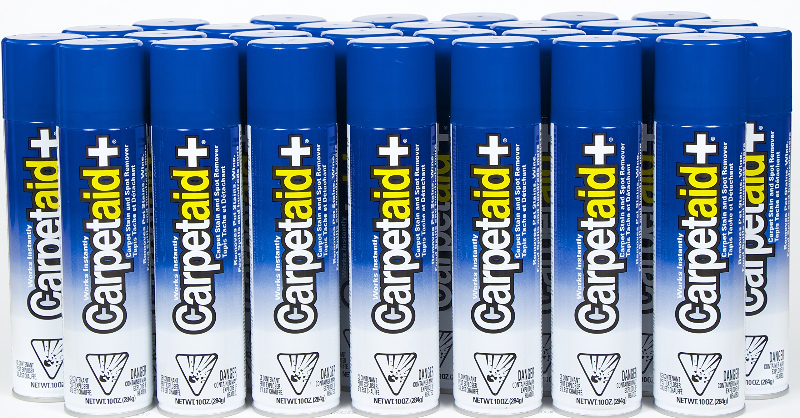 10 Oz. CarpetAid+ Carpet Stain Remover - Case of 28 Cans