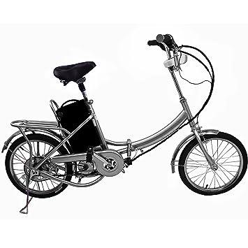 Cravog Aluminium Frame Folding Electric Bike Mid Motor With Back
