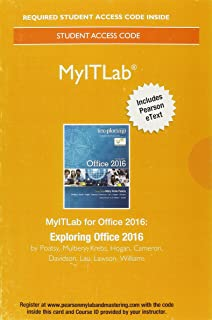 Exploring microsoft office excel 2016 comprehensive book only no myitlab with pearson etext access card for exploring microsoft office 2016 fandeluxe Choice Image