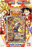 Super Warriors deck and Miracle Battle Carddas Piece Dragon Ball Kai pre-built deck pirate (japan import)