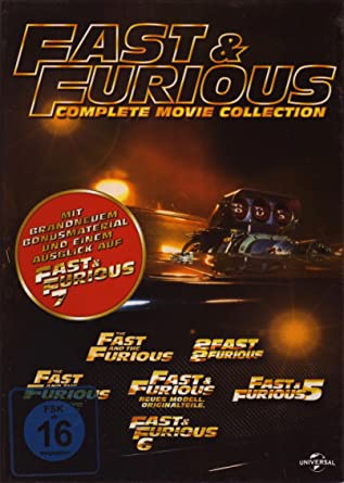 fast and furious box set 1 6