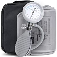 Greater Goods Sphygmomanometer Manual Blood Pressure Monitor Kit, Includes Travel...