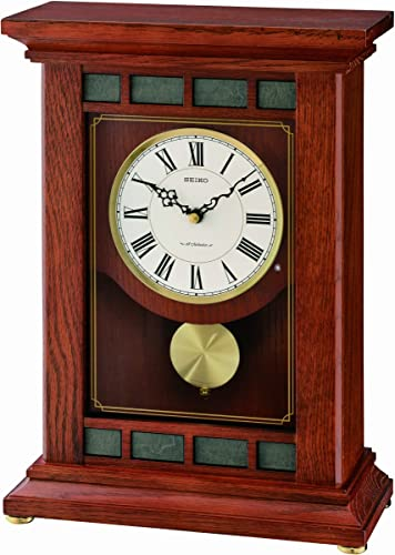 Seiko QXW421BLH Mantel Musical Collection Clock