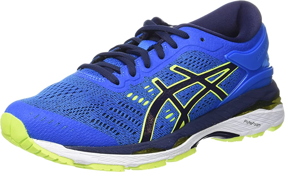 4acb405efac4 ASICS Unisex Kids' Gel-Kayano 24 Gs Running Shoes, (Directoire Blue ...