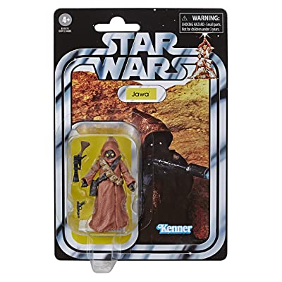 Star Wars The Vintage Collection A New Hope Jawa Toy, 3.75-inch Scale Action Figure, for Kids Ages 4 and Up: Toys & Games