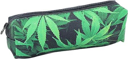RMB® Estuche con diseño de cáñamo, color verde: Amazon.es: Hogar