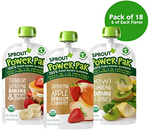 Sprout Organic Toddler Power bebida energética orgánica para ...