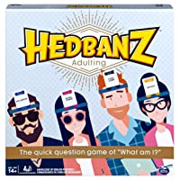 Hedbanz Adulting, Hilarious Party Game