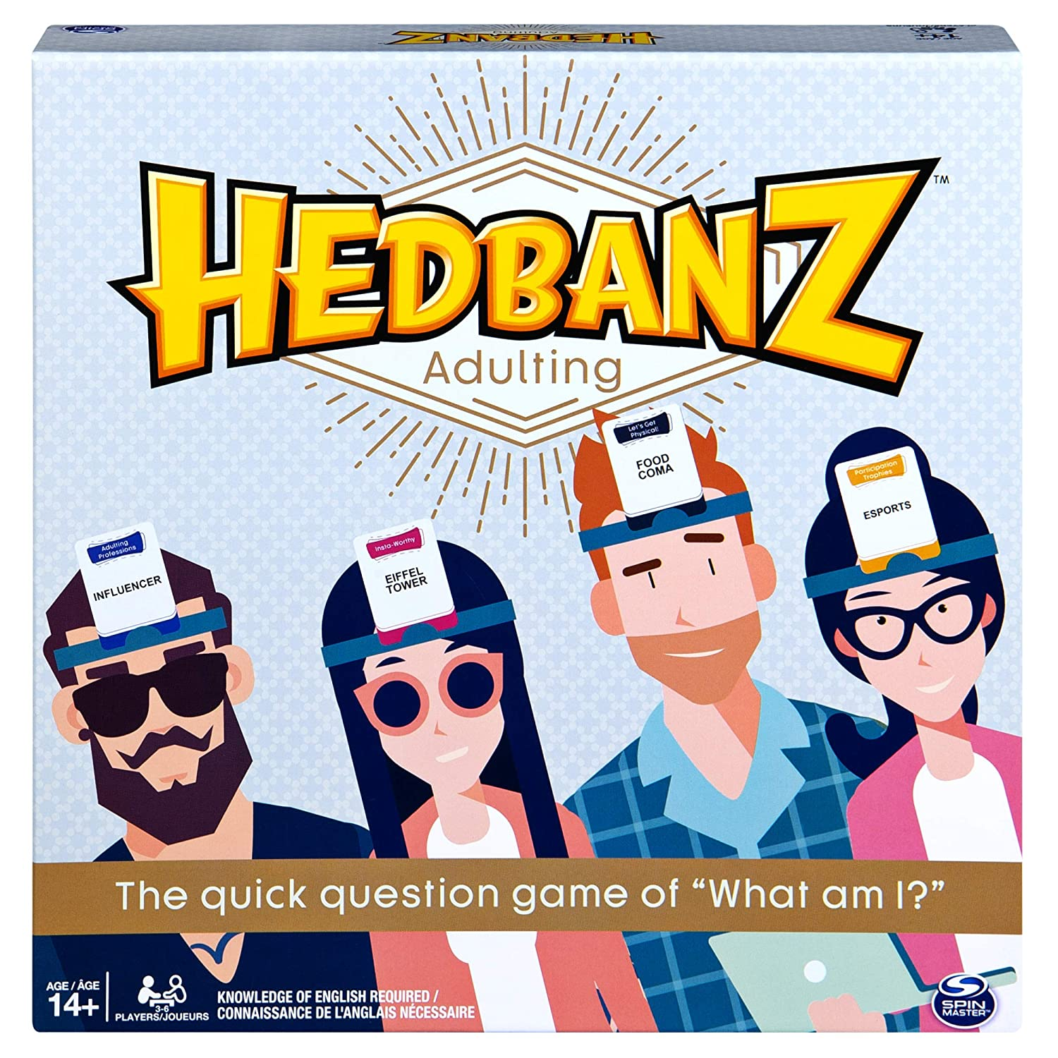 Spin Master HedBanz Guessing Game