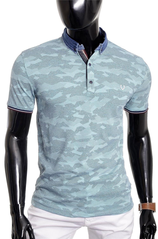 D & R Fashion 19615 para hombre Casual caliente T shirt tamaño Vivid ...