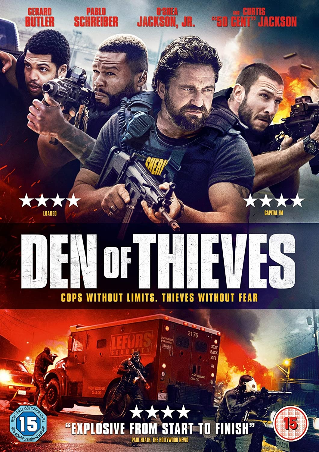 Den of Thieves [Import]: Amazon.fr: Gerard Butler, Christian ...