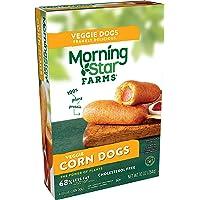 Kellogg's Morningstar Farms Veggie Classics Corn Dogs – Clean Eating Meatless Meals, Vegan, 10 oz Box (4 Count)